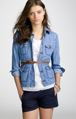 Jcrew Safaridenim