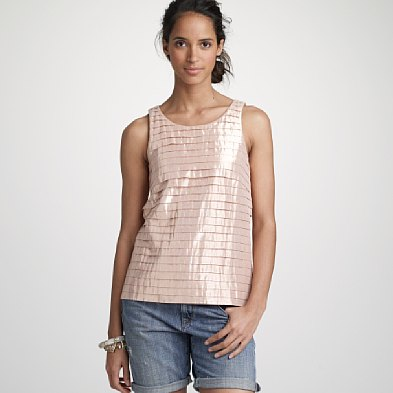 Jcrew Metallictank