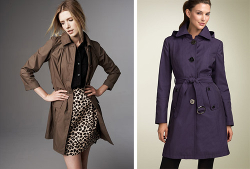 Coquette: Fashionable Raincoats