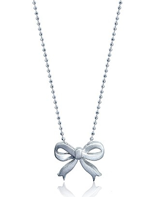 Alexwoo Bow Necklace