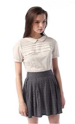 Fletcher Pleated Top