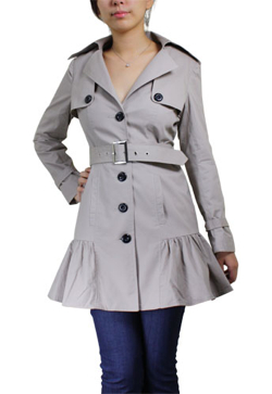 Ruffle Trench Chicstar