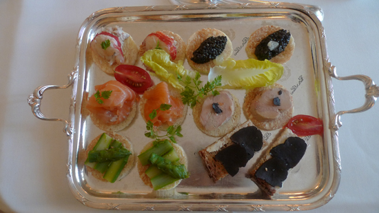Paris Canapes