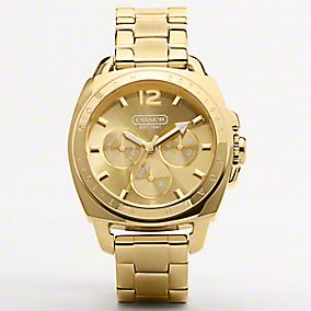 Coach Boyfriend Watch