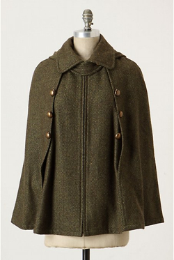 Anthropologie Capecoat