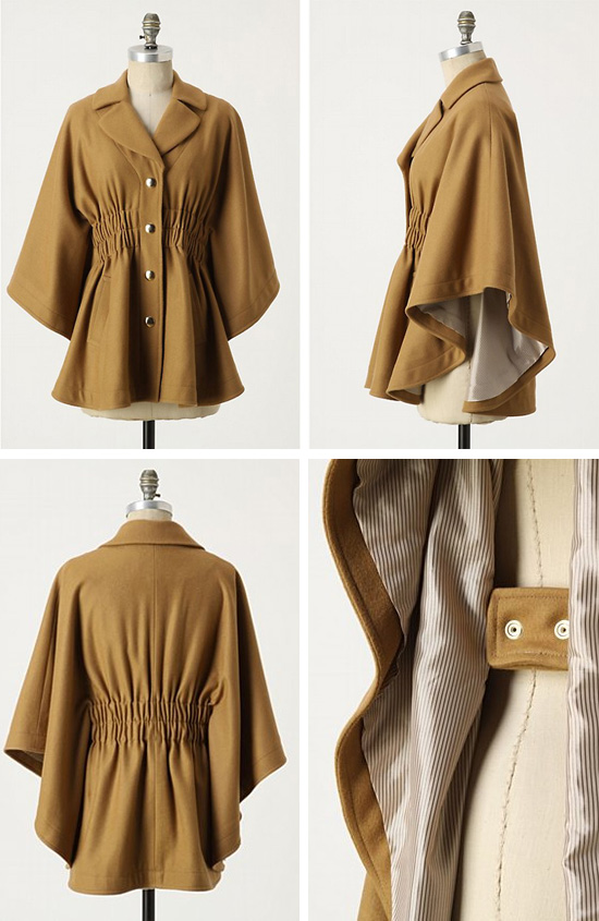 Anthropologie Sunner Cape
