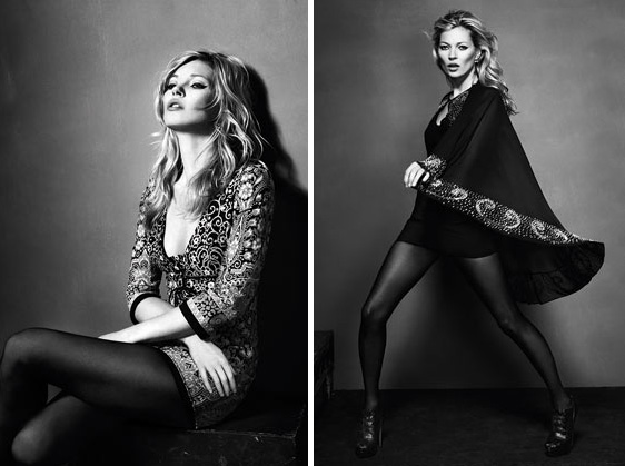 Katemoss Topshop 2010Collection