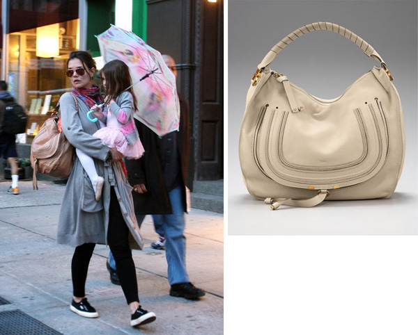 I love the new bags from Chloe specifically this Chloe Marci Horseshoe Hobo