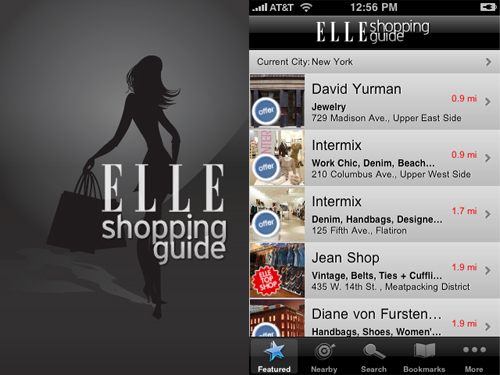 Elle Shopping Guide Iphoneapp