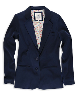 Hertiage Navy Boyfriendblazer