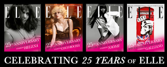 Elleuk 25Yrs Covers