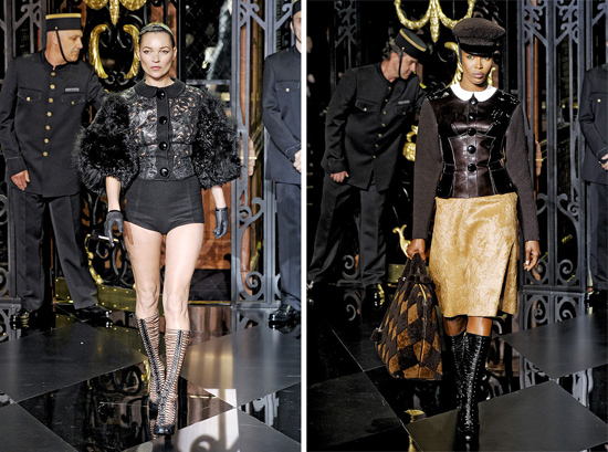 kate moss louis vuitton fashion show. Louis-Vuitton-Fall-2011-