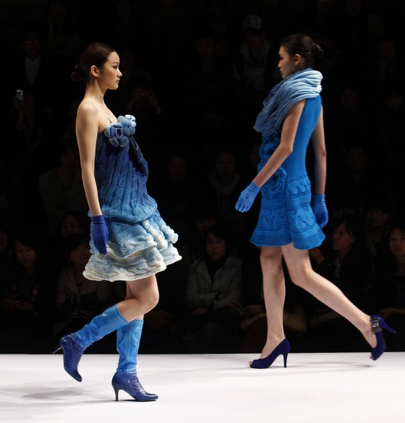 Chinafashionshow Knittingcompetition