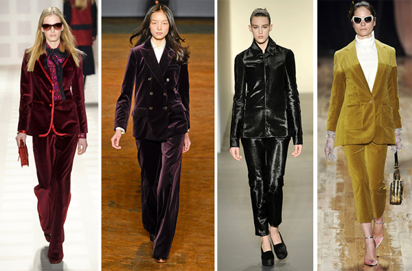 Nyfw Fall2011 Velvet Suits
