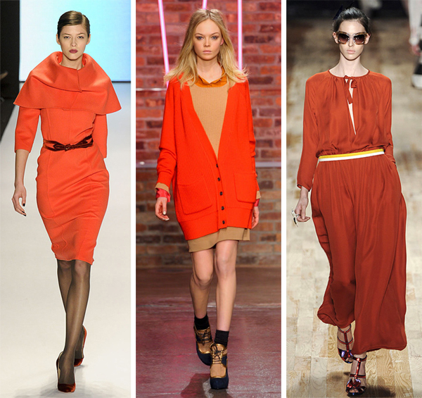 Nyfw Fall2011 Orange Color