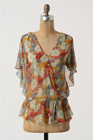 Anthropologie Fleusblouse