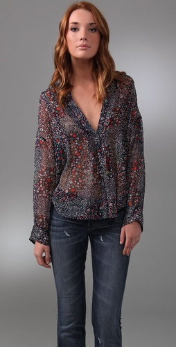 Joie Hippiefloralrioblouse