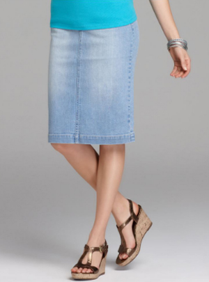 Styleandco Denim Skirt