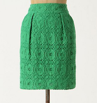 Anthropologie Laceskirt