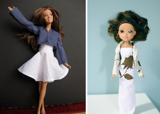 Project-Runway-Barbies