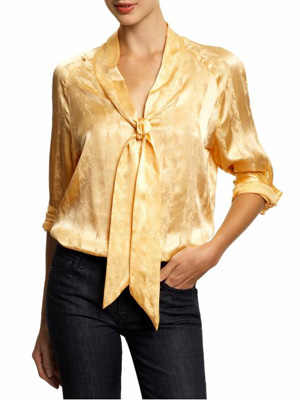 Tiefrontblouse Tucker