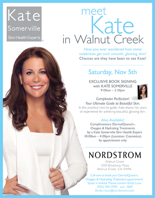 Kate-Somerville-Nordstrom-Walnut-Creek-Nov5