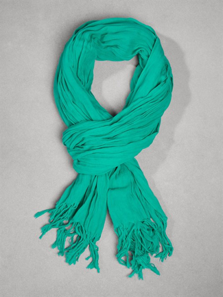 Dkny Cottonfringescarf