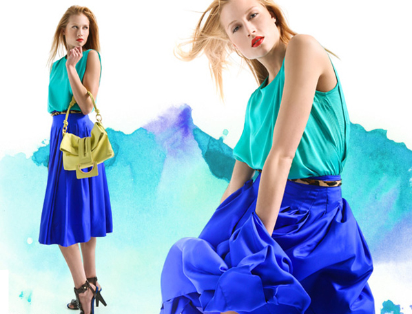 Rachelroy-Blue-Skirt