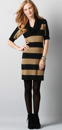 Loft-Stripe-Dress