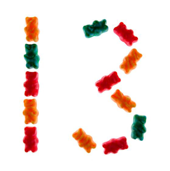 Candy1To20-Number13