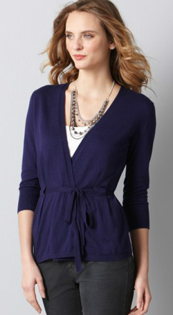 Loft-Tiewaistcardigan-Blue