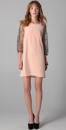 Tibi-Blush-Shiftdress