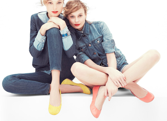 Jcrew-Balletflats-Models