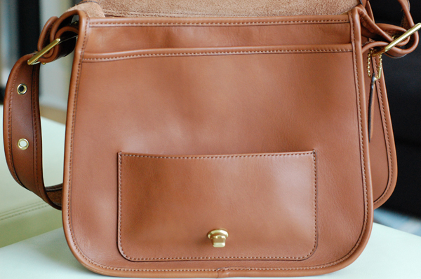 457fdcb117 Coquette: What's In My Bag: Coach Classic Stewardess Bag