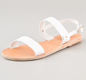 Ancient-Greek-Sandals-White