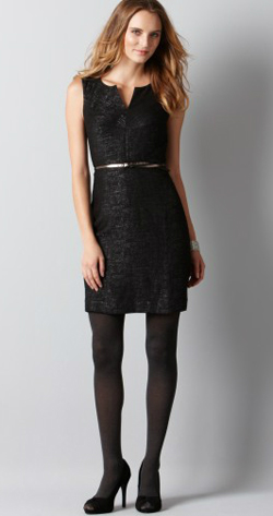 Loft-Jacquard-Shiftdress