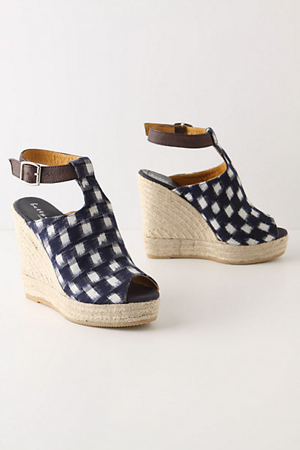 Anthropologie-Ginham-Shoes