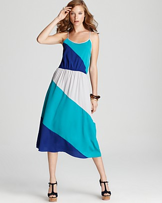 Aqua-Colorblock-Multi-Dress