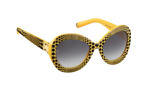Louisvuitton-Kusama-Sunglasses-Waves-Yellow