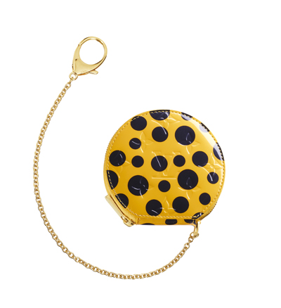 Louisvuitton-Kusama-Coinpurse-Dots-Yellow