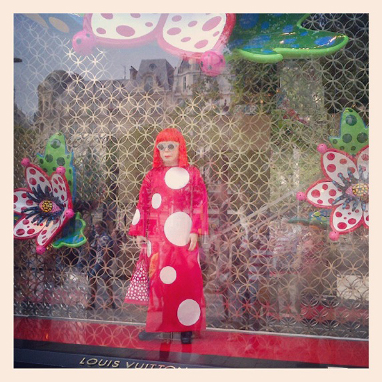 Instagram-Paris-Louisvuitton-Kusama