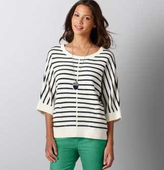 Loft-Striped-Sweater