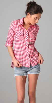 Shopbop-Cc-Gingham-Pocketshirt