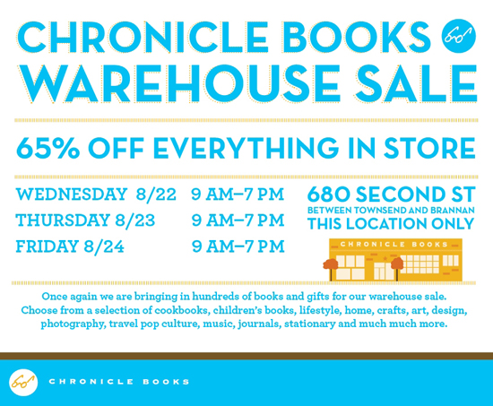 Chronicle-Books-Warehouse-Sale-Aug-2012