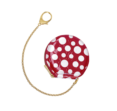 Louisvuitton-Kusama-Coinpurse-Dots-Red