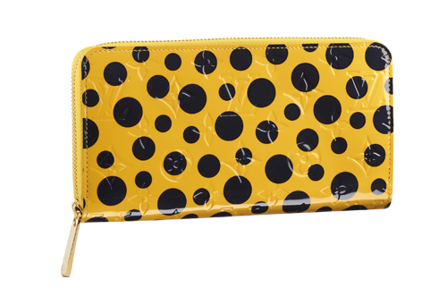 Louisvuitton-Kusama-Louisvuitton-Kusama-Zippy-Wallet-Monogram-Vernis-Dots-Infinity-Yellow
