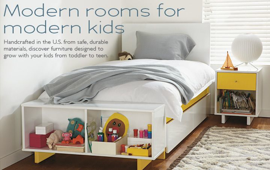 Modern Kids Furniture at Room and Board - Coquette Maman