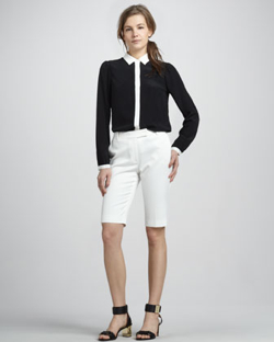 Rachelzoe-Simone-Colorblock-Shirt