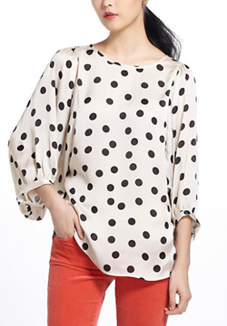 Dot-Blouse-Anthropologie