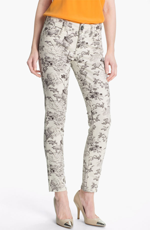 Nordstrom-Gray-Floral-Jeans